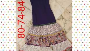 traje de flamenca modelo 201909R13