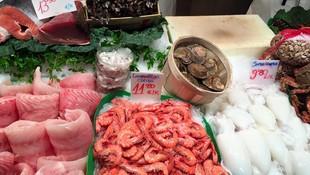 Gamas y otros crustáceos