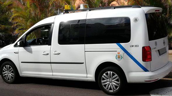 Taxi al aeropuerto en Santa Cruz de Tenerife