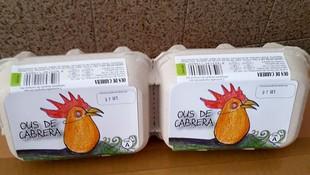 Venta de huevos en Barcelona