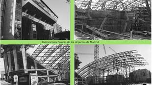 Estructura del Palacio de los Deportes de Madrid