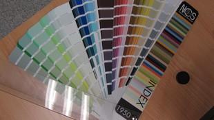 Carta de Colores Natural Color System, para una elección de color en un trabajo
