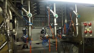 Instalación de electroválvulas comandadas desde un plc