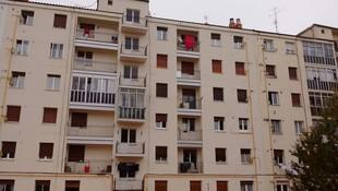 Rehabilitación de fachada de edificio en calle Perú, 14