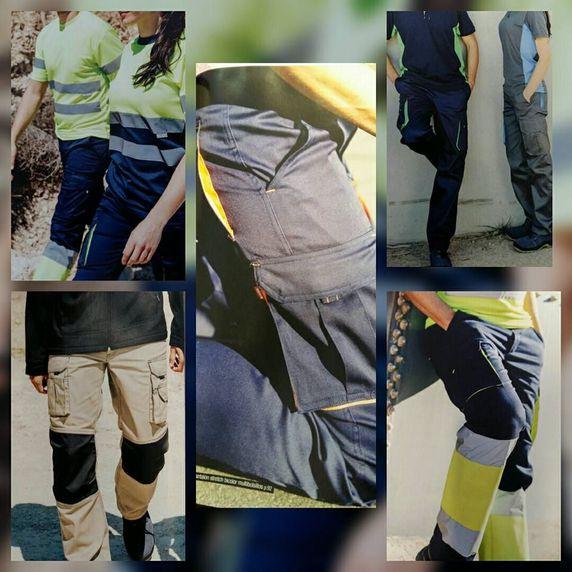 Gran variedad de ropa laboral en Peñafiel