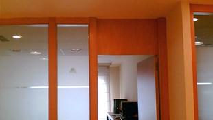 Puertas y paneles para oficinas