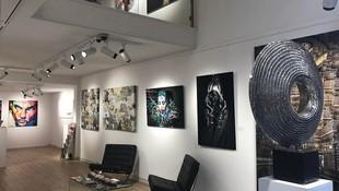 Galería de arte contemporáneo en el corazón del casco antiguo de Ámsterdam