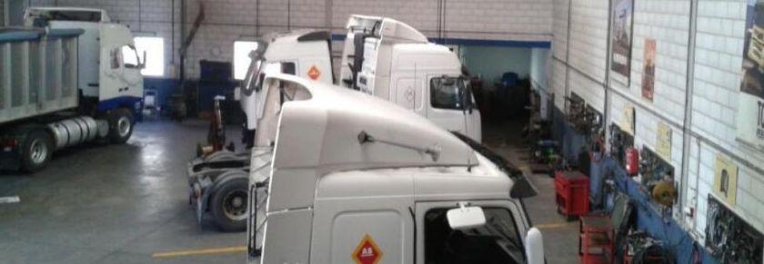 Taller de vehículos industriales en Campo de Criptana