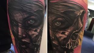 Tatuaje blackwork Barcelona