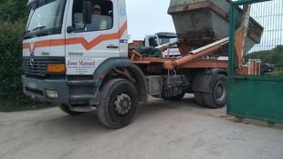 Transporte de áridos en Asturias