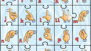 Taller sobre el lenguaje de signos