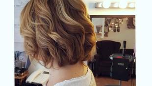 Peinado con ondas para el pelo