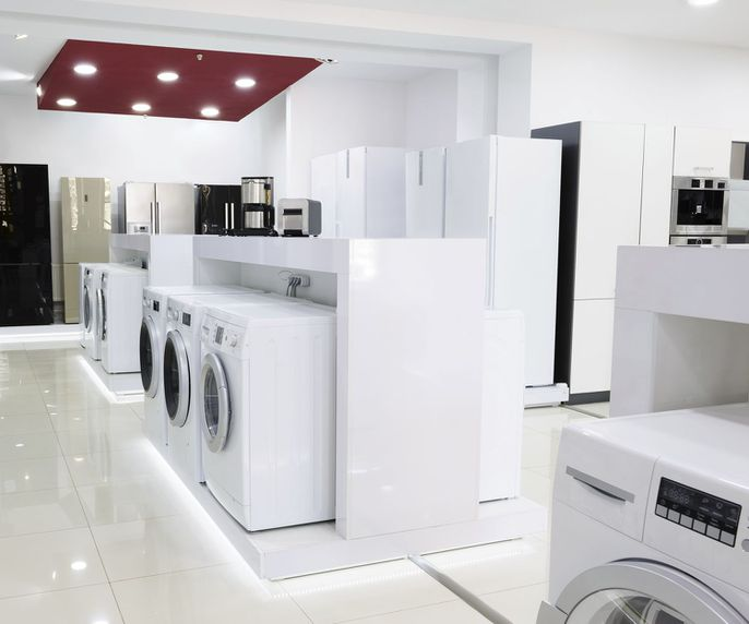 Distribución de electrodomésticos en Valencia