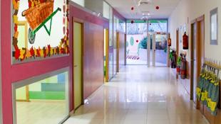 Pasillo Escuela Infantil La Cotorrera