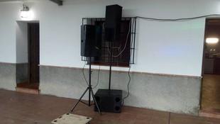 Instalación de sonido profesional
