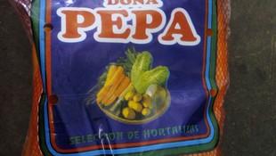 Zanahoria envasada en bolsa de  1/2Kg