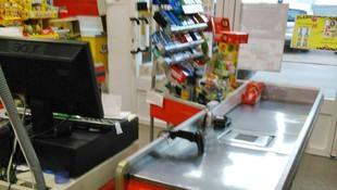 Nuestra caja en el supermercado