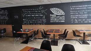 Detalle del interior del restaurante