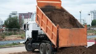 Transportes en camiones basculantes en Valencia