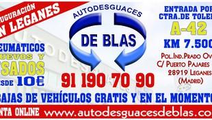 PROMOCION AUTODESGUACES DE BLAS