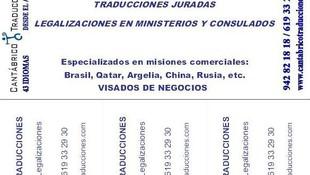 Traductor Jurado en Santander