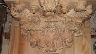 Capitel de madera