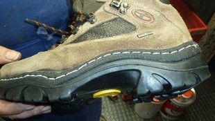 Reparación de cremalleras en botas en Leganés