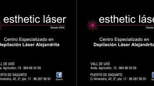 Centro de estética especializado den depilación láser Alejandrita