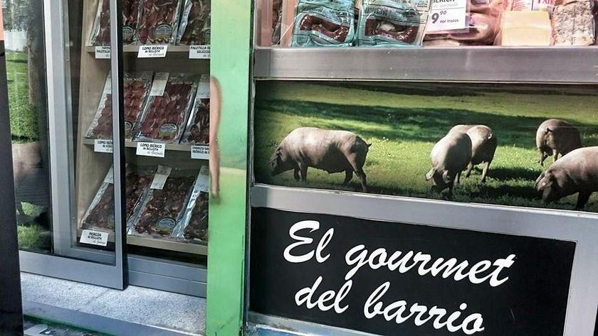 Productos de charcutería en Embajadores Madrid