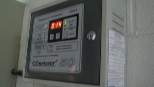 Centralita de detector de monóxido