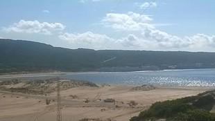 Playa salida del Camping Faro Trafalgar