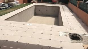 Trabajos de albañilería para la fabricación de piscinas