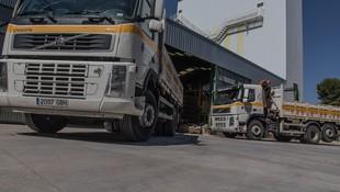 Transporte de materiales de construcción en San Sebastián de los Reyes
