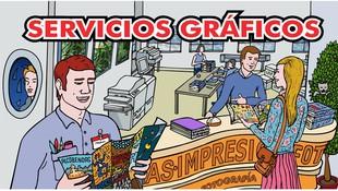 Servicios gráficos en Alcobendas