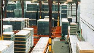almacen general de deposito Barcelona-Apoli Stock