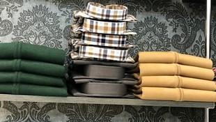 Tienda con gran variedad de camisas
