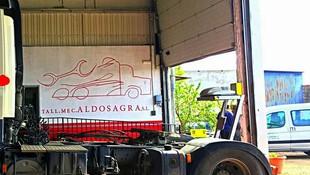 Taller especializado en vehículos industriales Alameda de la Sagra