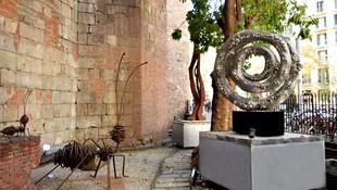 Galería de arte contemporáneo en Barcelona   Jardín de esculturas