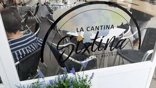 Terraza de La Cantina Sixtina en A Coruña