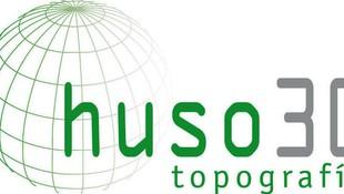 Logotipo huso 30 topografia