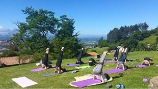 Yoga en el exterior