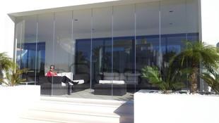 Instalación de cortinas de cristal en Málaga