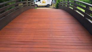 Puentes de madera