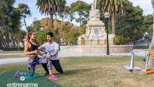 Entrenamientos personales al aire libre en Zaragoza