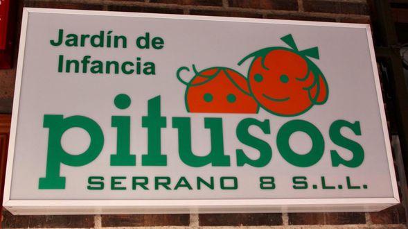 Jardin de Infancia Pitusos Serrano 8 SLL.