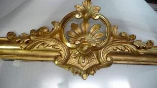 Restauración de marco dorado en Oviedo