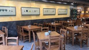 Restaurante con salón, barra y terraza en Oviedo