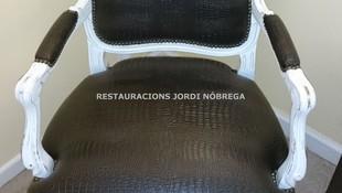 Restauración de sillas en Barcelona. Jordi Nóbrega Restauracions