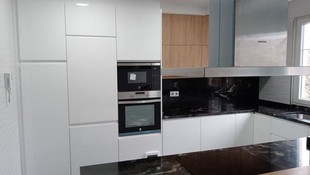 mobiliario de cocina instalado en Gijón