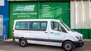 Alquiler de furgonetas para pasajeros en Valencia